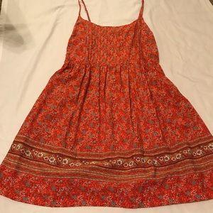 EUC Old Navy Orange Dress